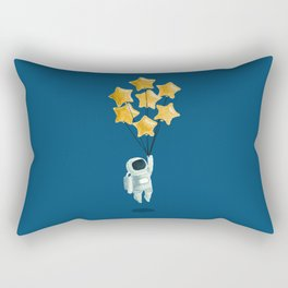 Astronaut's dream Rectangular Pillow
