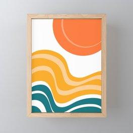 Sun Dunes 03 Framed Mini Art Print