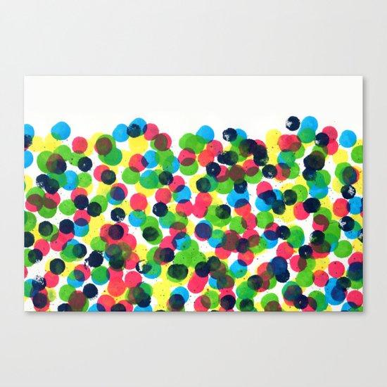 Dot Dot Dot Canvas Print