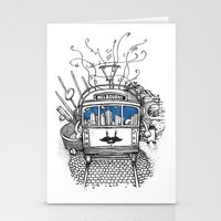 melbourne Stationery Cards featuring Melbourne by Raul Garderes