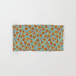 Funny pizza pattern Hand & Bath Towel