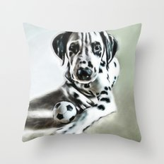 brothers in colors Throw Pillow