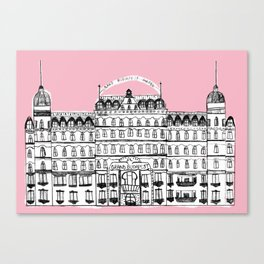Budapest Hotel Canvas Print