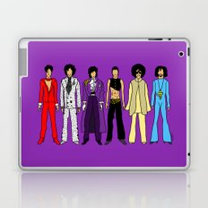Outfits of Purple Fashion on Purple Laptop & iPad Skin