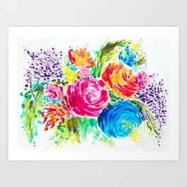 Emma's Garden Art Print