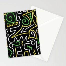 A-Mazing Neon Stationery Cards