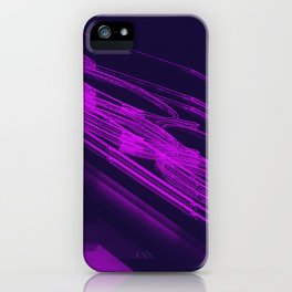 The Love Series 200 Purple iPhone Case