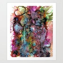 Blooming Mystery Art Print