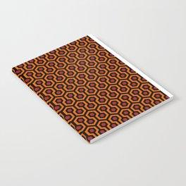 Shining Hotel Carpet Pattern Notebook