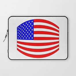 USA Stars and Stripes Flag Wide Laptop Sleeve