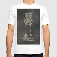AT-AT Mens Fitted Tee White MEDIUM