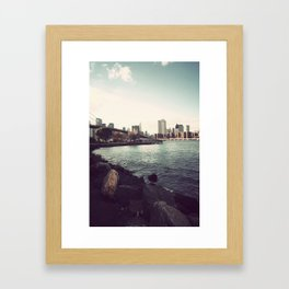 The Calm of the City Framed Art Print