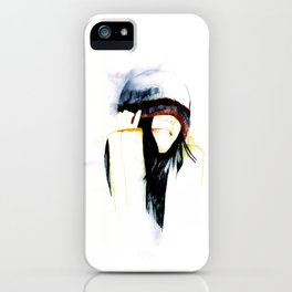 True happiness comes from heart  iPhone Case