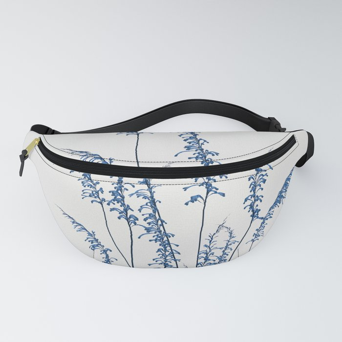 Blue flowers 2 Fanny Pack