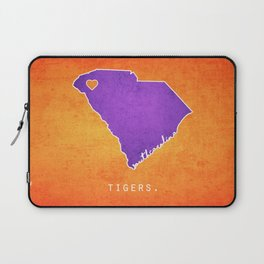 Clemson Tigers Laptop Sleeve