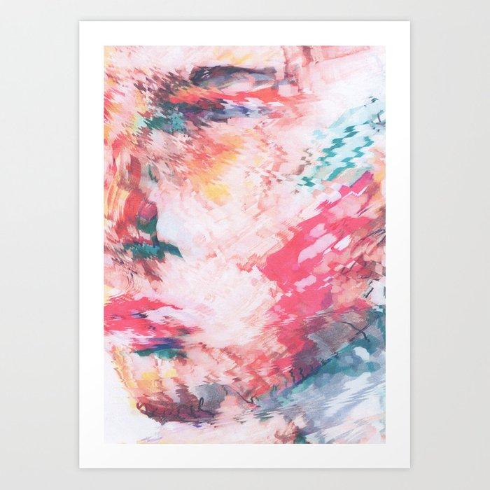 Strangers Faces #1 Art Print