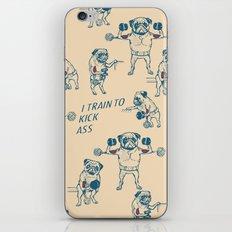 Pug Workout iPhone & iPod Skin