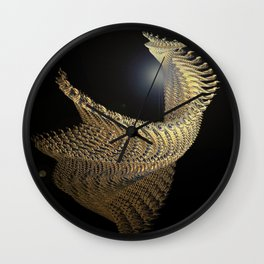 The Golden Fleece Wall Clock