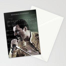 Bohemian Rhapsody (Freddie) Stationery Cards