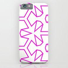 Van Zwaben Pink Neon Pattern iPhone 6s Slim Case