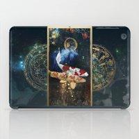 zodiac iPad Cases featuring Zodiac : Pisces by Andre Sanchez