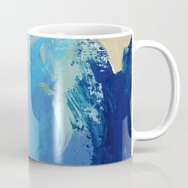 Seafoam Modern Abstract Painting Coffee Mug