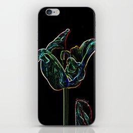 Pop Art Digital Photo Tulip jjhelene design iPhone Skin