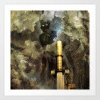 Stormbreath Art Print