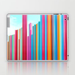 Colorful Rainbow Pipes Laptop & iPad Skin