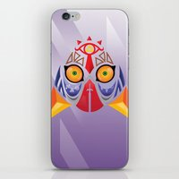 majora iPhone & iPod Skins featuring Majora Color by CrodriguezArt