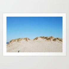 Sand Dunes   Art Print