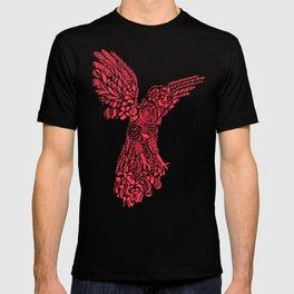Gallito de las rocas peruvian bird red version by #Bizzartino T-shirt