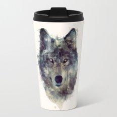 Wolf // Persevere  Travel Mug