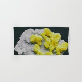 Sulfur on Celestine Hand & Bath Towel