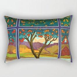 Shadow of a Seville Orange Rectangular Pillow