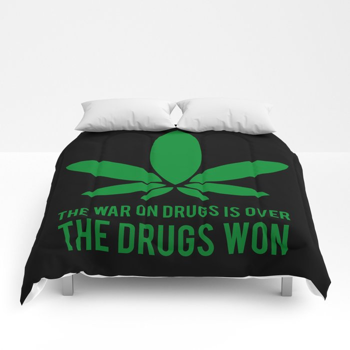 The Drugs Won (2) Comforters