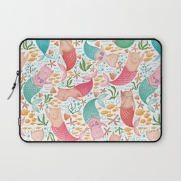 Purrmaids Pattern Laptop Sleeve