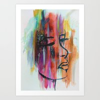 Starry Eyed. Art Print