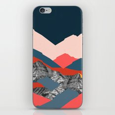 Graphic Mountains X iPhone & iPod Skin