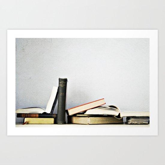 Vintage Books No.1 Art Print