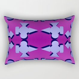 V1 pattern Rectangular Pillow