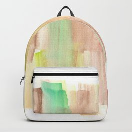 [161228] 22. Abstract Watercolour Color Study |Watercolor Brush Stroke Backpack