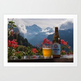 Swiss Beer Art Print