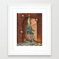 theatre Framed Art Prints featuring Mystic Theatre by julian de narvaez