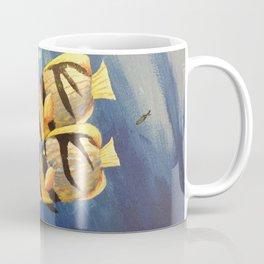 Yellow fish Coffee Mug