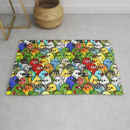 Too Many Birds!™ Bird Squad Classic Rug