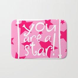 You Are a Star Bath Mat