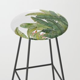 Banana Leaves Bar Stool