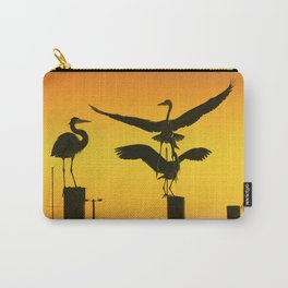 Heron Gathering Carry-All Pouch
