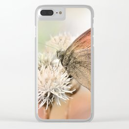 Butterfly  75 Clear iPhone Case